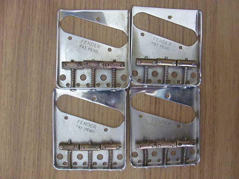 Relic Fender bridges